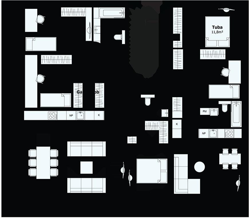 Juhani maja - Korrus - 2